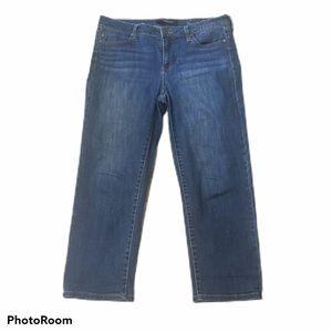 Liverpool Stitch Fix cropped jeans. Size 10/30